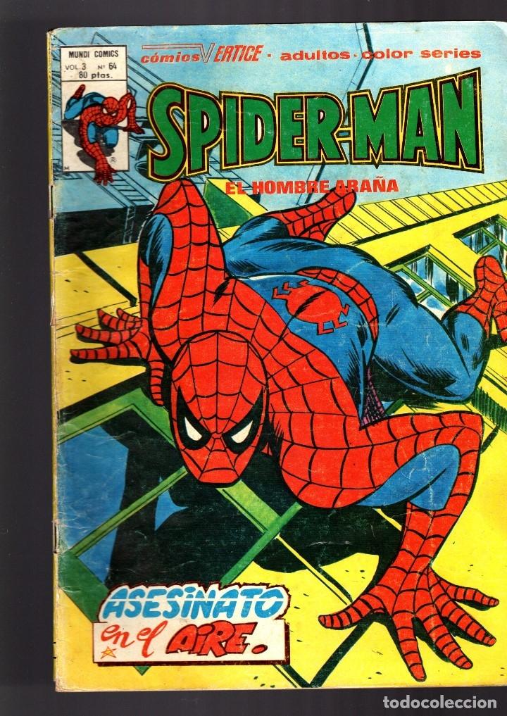 SPIDERMAN 64 VOL 3 - VERTICE VG (Tebeos y Comics - Vértice - V.3)