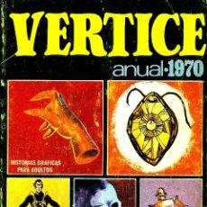 Cómics: ANUAL VERTICE 1970. TOMO DE 208 PGS. CON MYTEK, KELLY, SPIDER Y LOS PERSONAJES FLEETWAY. Lote 182104327
