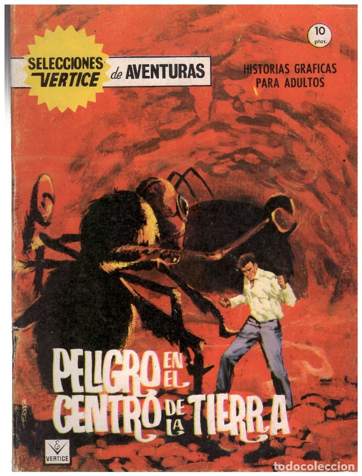 SELECCIONES VERTICE DE AVENTURAS Nº 3. FORMATO GRAPA. (Tebeos y Comics - Vértice - Fleetway)