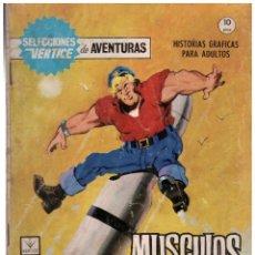 Cómics: SELECCIONES VERTICE DE AVENTURAS Nº 4. FORMATO GRAPA.. Lote 182160858