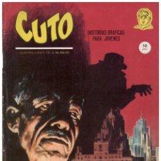 Comics : JESUS BLASCO. CUTO. COLECCION COMPLETA: 8 NUMEROS. VERTICE GRAPA. Lote 182164816