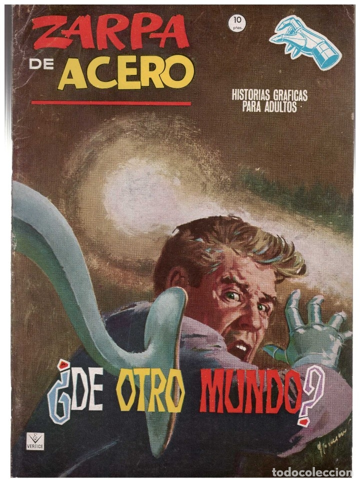 ZARPA DE ACERO Nº 14 . EDICION GRAPA VERTICE. JESUS BLASCO (Tebeos y Comics - Vértice - Fleetway)