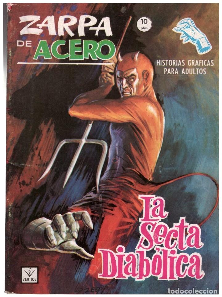 ZARPA DE ACERO Nº 26 . EDICION GRAPA VERTICE. JESUS BLASCO (Tebeos y Comics - Vértice - Fleetway)