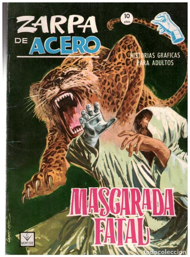 ZARPA DE ACERO Nº 27 . EDICION GRAPA VERTICE. JESUS BLASCO (Tebeos y Comics - Vértice - Fleetway)