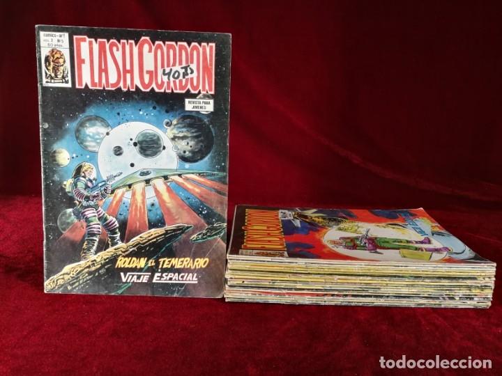 LOTE 20 FLASH GORDON VERTICE VOLUMEN 2 : 5 6 7 8 10 13 15 17 18 19 21 22 23 25 27 28 29 33 35 40 (Tebeos y Comics - Vértice - Flash Gordon)