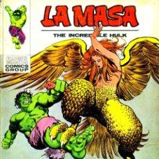 Cómics: LA MASA-33 (VERTICE,1970) V1. Lote 182358608