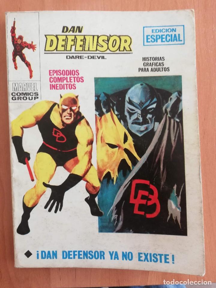 DAN DEFENSOR Nº 19 VOL 1 TACO VERTICE (Tebeos y Comics - Vértice - V.1)