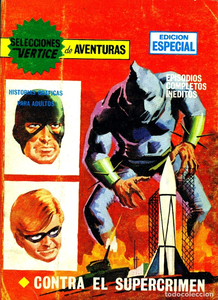 SELECCIONES VERTICE EDICIÓN ESPECIAL-53 (VERTICE, 1968) (Tebeos y Comics - Vértice - Otros)