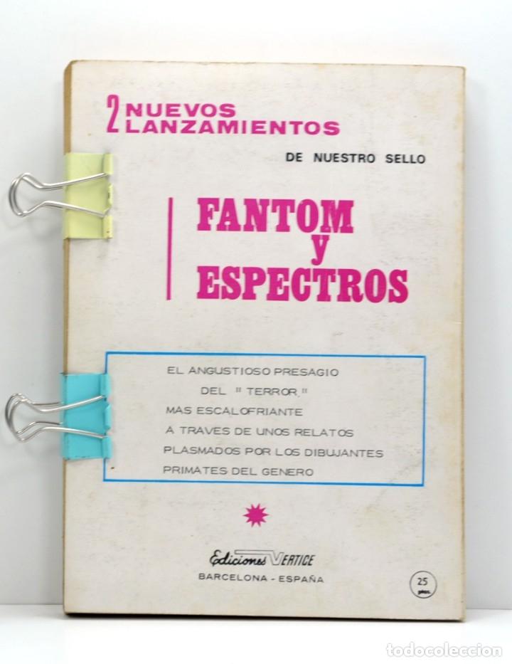 Cómics: LOS CUATRO FANTASTICOS VERTICE VOL. 1 Nº 36 LAS LLAMAS DE LA BATALLA - Foto 2 - 182434516