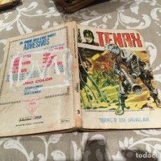 Cómics: TENAX EL IMVENCIBLE Nº 3 TERROR EN JAVALAR- EDICIONES VERTICE 1972. Lote 182502982