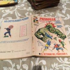 Cómics: LA PATRULLA X Nº 30 EL RETORNO DEL PROFESOR X VOL.1 EDICIONES VERTICE. Lote 182503956