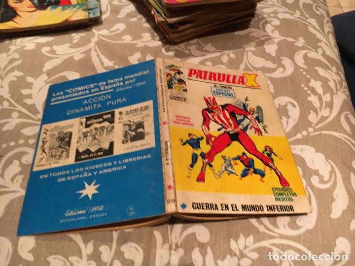 PATRULLA X, VOL 1 Nº 29 - GUERRA EN EL MUNDO INFERIOR - VERTICE 1972 (Tebeos y Comics - Vértice - Patrulla X)