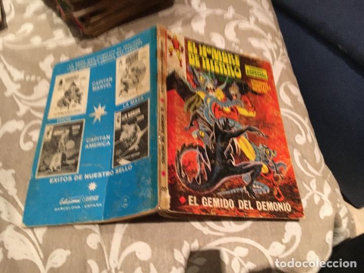 EL HOMBRE DE HIERRO VOL 1 Nº 20 EL GEMIDO DEL DEMONIO - VERTICE 1972 (Tebeos y Comics - Vértice - Hombre de Hierro)