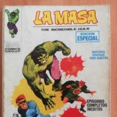 Cómics: LA MASA Nº 3 TACO VERTICE. Lote 182515030