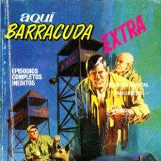Cómics: AQUI BARRACUDA EXTRA-5 (VERTICE, 1968). Lote 182542987