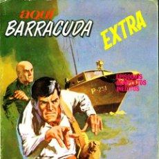 Cómics: AQUI BARRACUDA EXTRA-4 (VERTICE, 1968). Lote 182543125