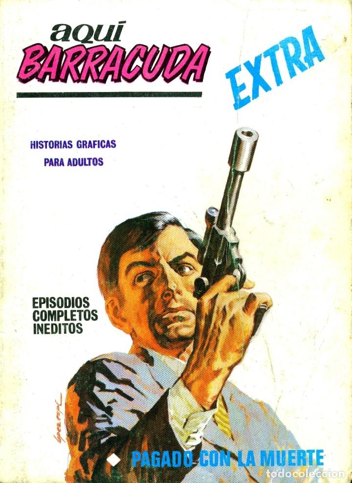 AQUI BARRACUDA EXTRA-3 (VERTICE, 1968) (Tebeos y Comics - Vértice - Otros)