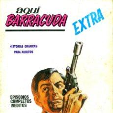 Cómics: AQUI BARRACUDA EXTRA-3 (VERTICE, 1968). Lote 182543203