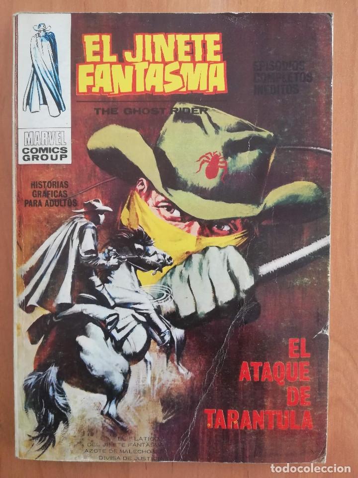 EL JINETE FANTASMA Nº 2 TACO VERTICE (Tebeos y Comics - Vértice - V.1)