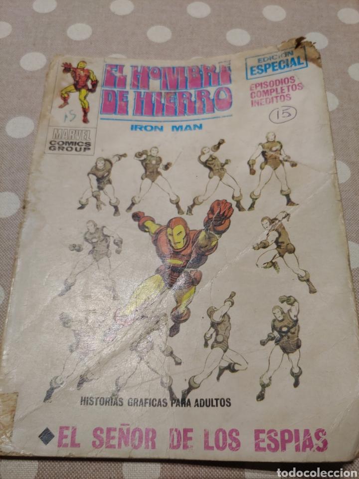 IRON MAN VERTICE VOLUMEN 1 NÚMERO 15, EL SEÑOR DE LOS ESPÍAS (Tebeos y Comics - Vértice - Hombre de Hierro)