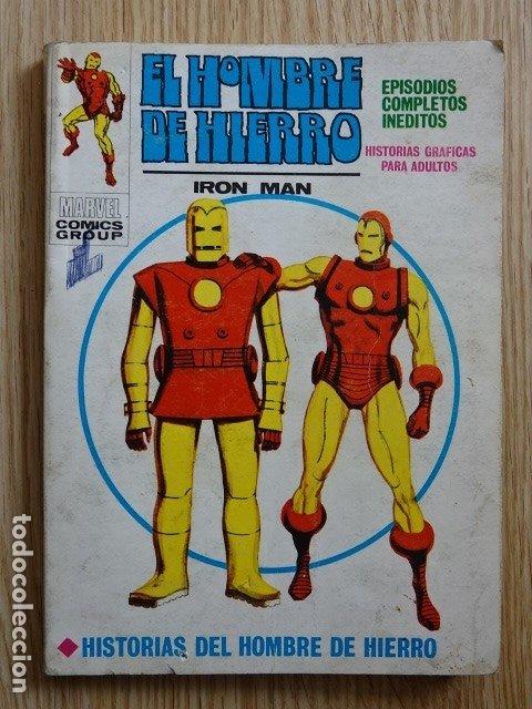 EL HOMBRE DE HIERRO IRON MAN EDICIONES INTERNACIONALES 21 VÉRTICE AÑO 1969 (Tebeos y Comics - Vértice - Hombre de Hierro)