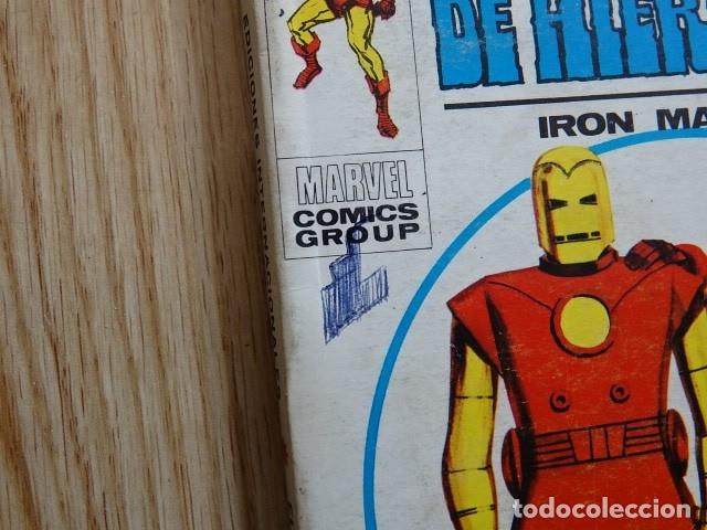 Cómics: El hombre de hierro Iron man Ediciones internacionales 21 VÉRTICE año 1969 - Foto 2 - 182853147