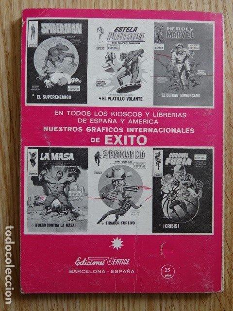 Cómics: El hombre de hierro Iron man Ediciones internacionales 21 VÉRTICE año 1969 - Foto 3 - 182853147