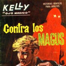 Cómics: KELLY, OJO MAGICO-11 (VERTICE, 1965) GRAPA. Lote 182911685
