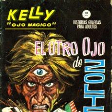 Cómics: KELLY, OJO MAGICO-8 (VERTICE, 1965) GRAPA. Lote 182911756