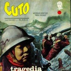 Cómics: CUTO-6: TRAGEDIA EN ORIENTE (VERTICE, 1965) DE JESÚS BLASCO. GRAPA. Lote 182954516