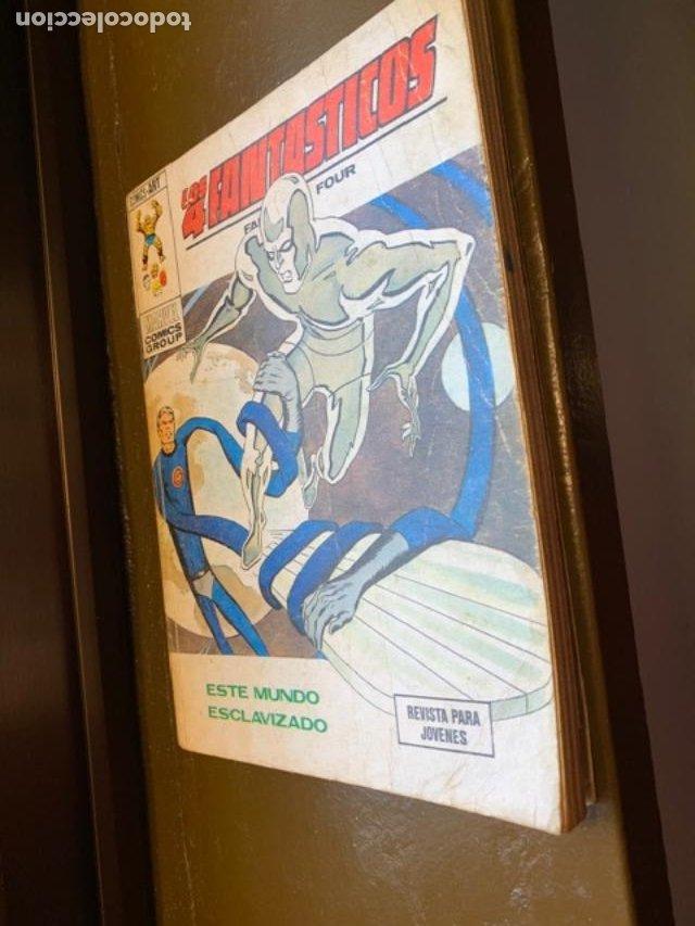 ANTIGUO COMIC MARVEL LOS 4 FANTASTICOS Nº 61, ESTE MUNDO ESCLAVIZADO - FLA (Tebeos y Comics - Vértice - 4 Fantásticos)