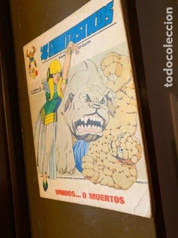 ANTIGUO COMIC MARVEL LOS 4 FANTASTICOS Nº 59, UNIDOS...O MUERTOS - FLA (Tebeos y Comics - Vértice - 4 Fantásticos)