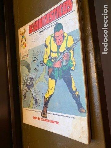 ANTIGUO COMIC MARVEL LOS 4 FANTASTICOS Nº 50, CAOS EN EL EDIFICIO BAXTER - FLA (Tebeos y Comics - Vértice - 4 Fantásticos)