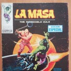 Cómics: LA MASA Nº 11 TACO VERTICE. Lote 183200686