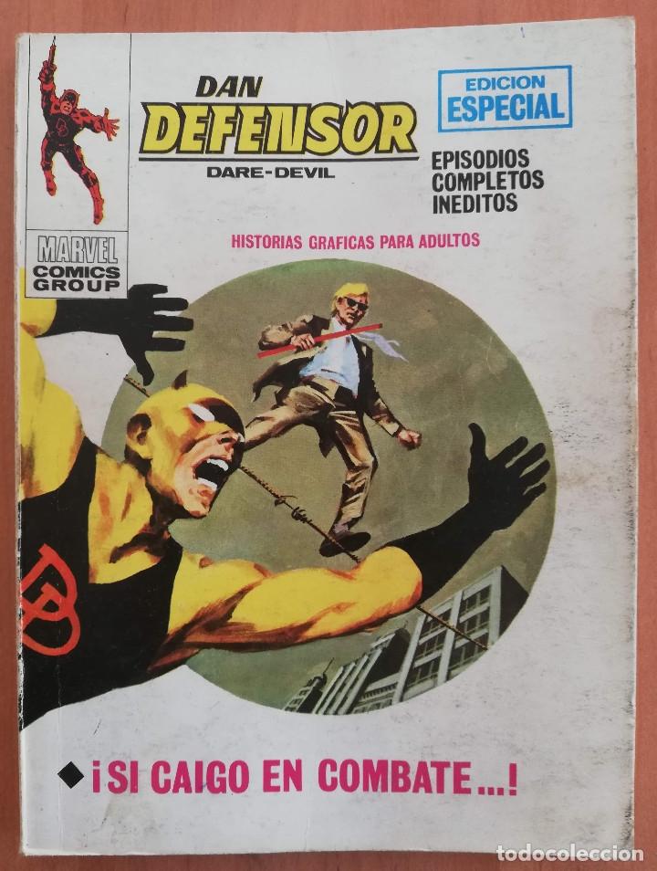 DAN DEFENSOR Nº 20 VOL 1 TACO VERTICE (Tebeos y Comics - Vértice - V.1)