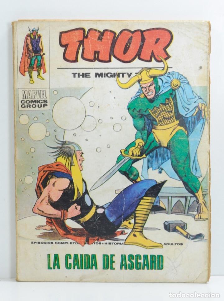THOR Nº 33, LA CAIDA DE ASGARD, VERTICE, 1974 (Tebeos y Comics - Vértice - Thor)