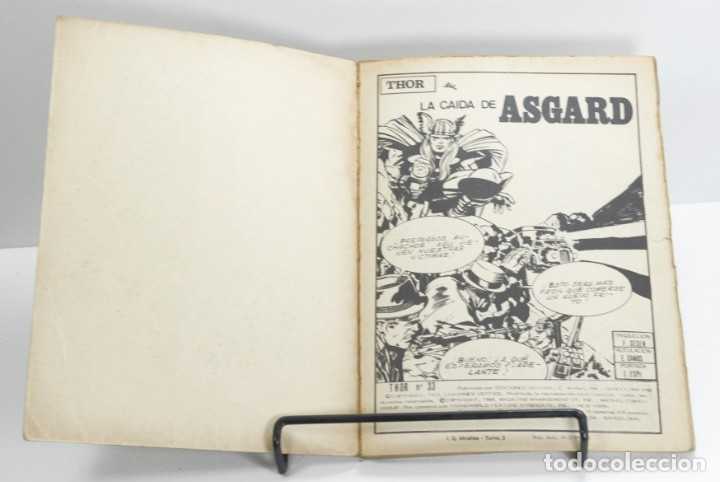 Cómics: Thor nº 33, La caida de Asgard, Vertice, 1974 - Foto 3 - 183213950