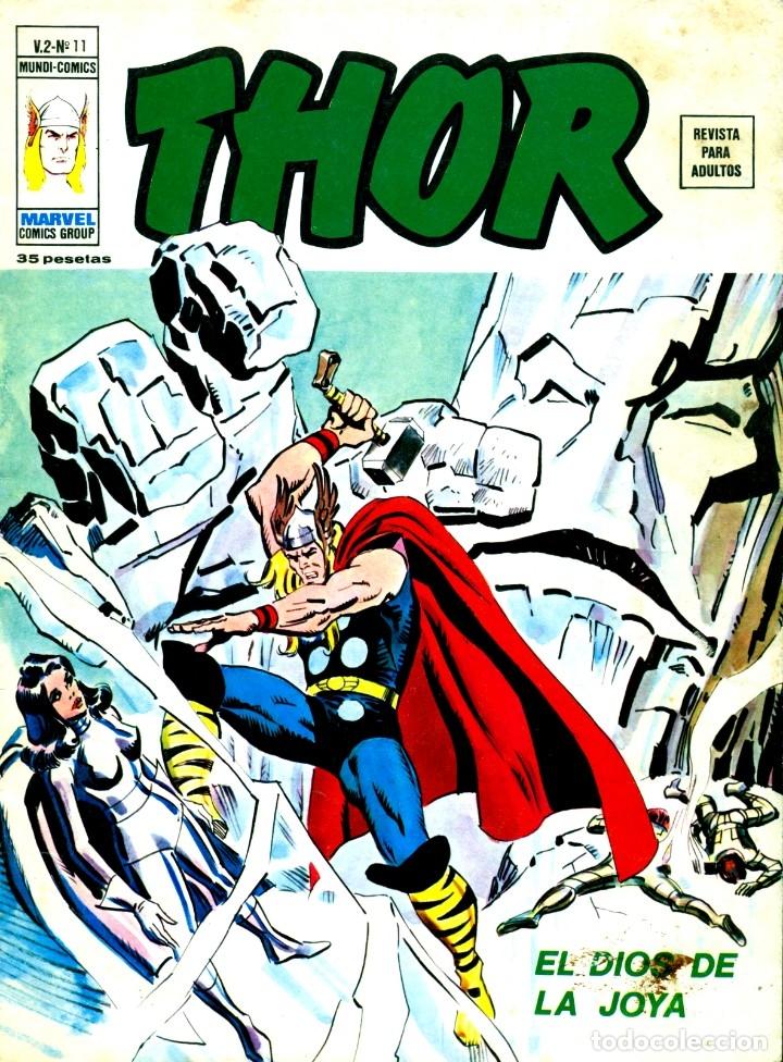 THOR V2-11 (VERTICE,1974) (Tebeos y Comics - Vértice - Thor)