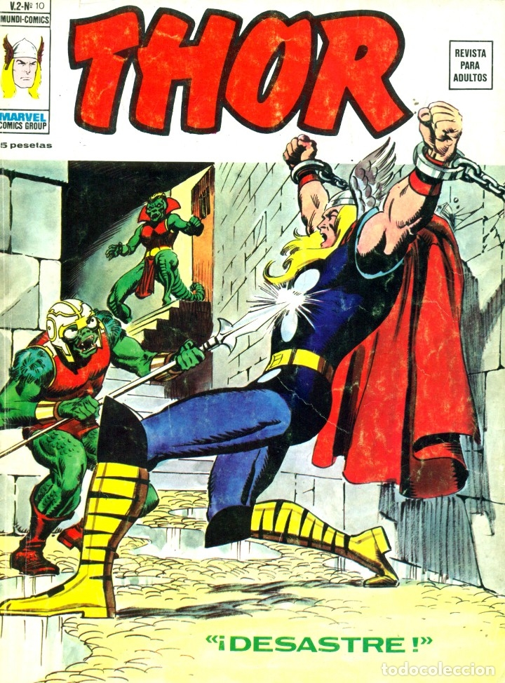 THOR V2-10 (VERTICE, 1974) (Tebeos y Comics - Vértice - Thor)