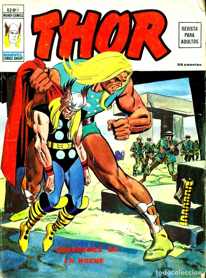 THOR V2-8 (VERTICE, 1974) (Tebeos y Comics - Vértice - Thor)