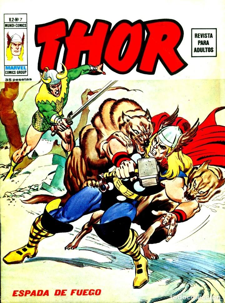 THOR V2-7 (VERTICE, 1974) (Tebeos y Comics - Vértice - Thor)