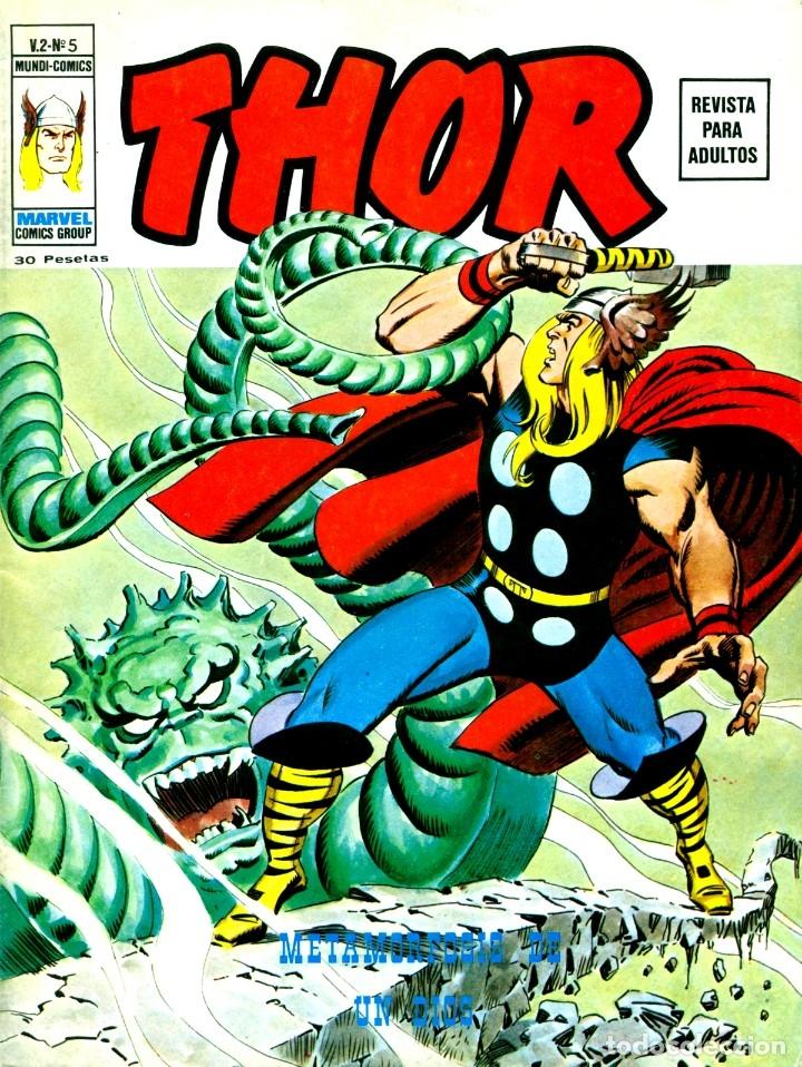 THOR V2-5 (VERTICE, 1974) (Tebeos y Comics - Vértice - Thor)