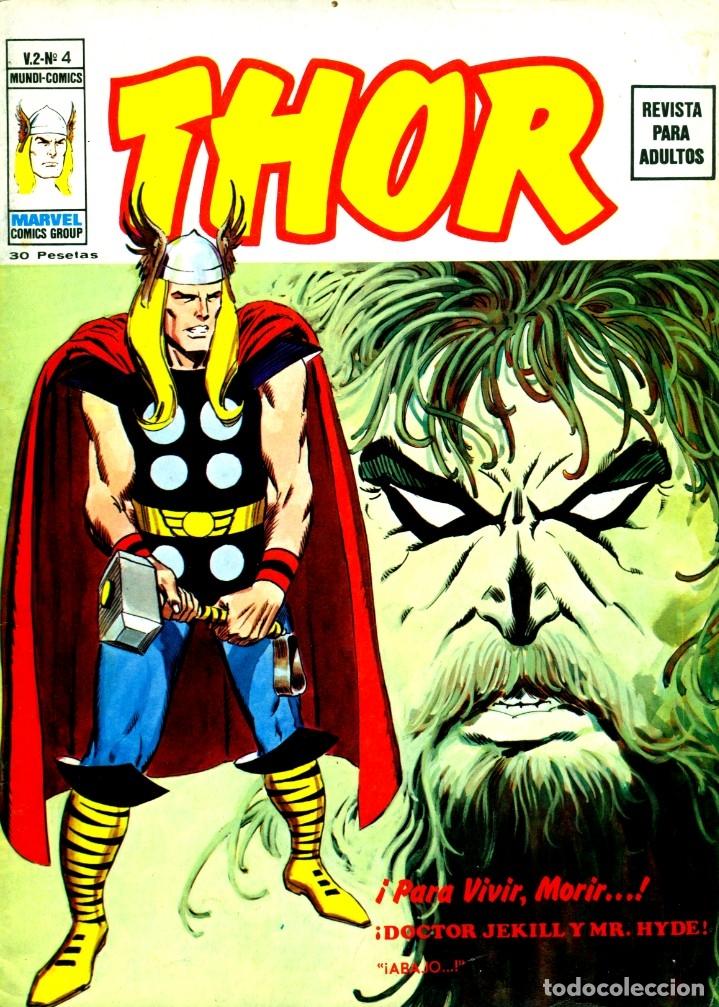 THOR V2-4 (VERTICE, 1974) (Tebeos y Comics - Vértice - Thor)