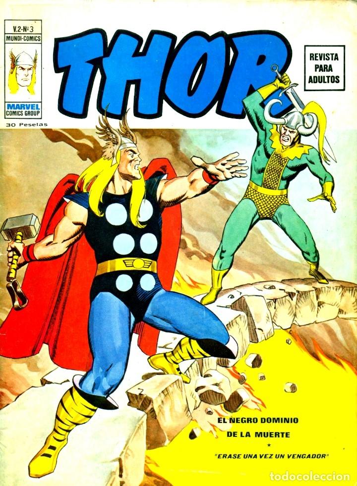 THOR V2-3 (VERTICE, 1974) (Tebeos y Comics - Vértice - Thor)