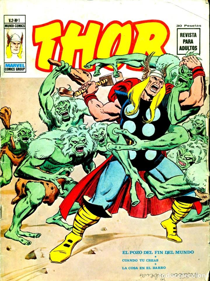THOR V2-1 (VERTICE, 1974) (Tebeos y Comics - Vértice - Thor)