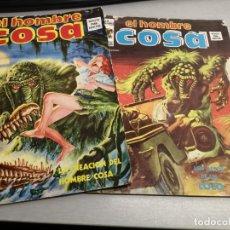 Cómics: EL HOMBRE COSA VOL. 1 / LOTE CON 2 NÚMEROS: 1 Y 4 / VÉRTICE. Lote 48322369