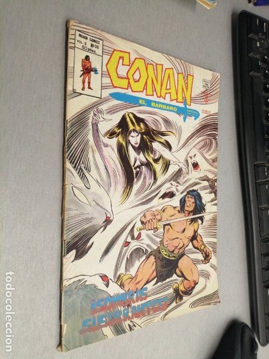 CONAN EL BÁRBARO VOL. 2 Nº 36 / VÉRTICE (Tebeos y Comics - Vértice - Conan)