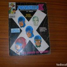 Cómics: PATRULLA X Nº 10 EDITA VERTICE . Lote 183414456