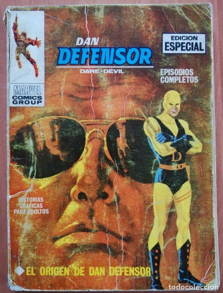 DAN DEFENSOR Nº 1 VOL 1 TACO VERTICE (Tebeos y Comics - Vértice - V.1)