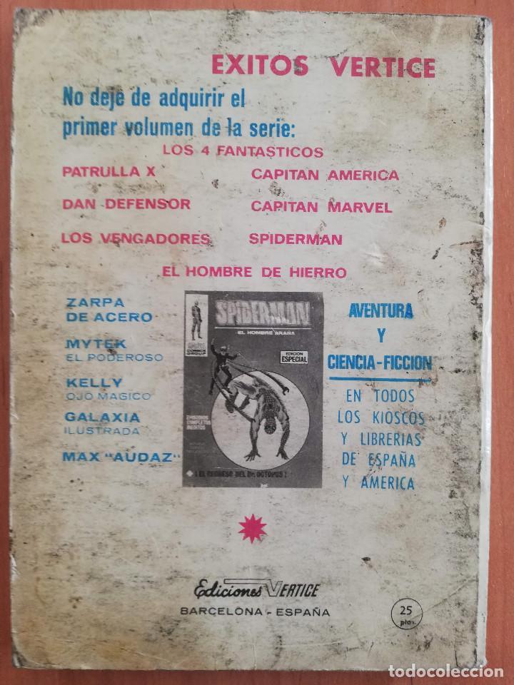 Cómics: PATRULLA X Nº 10 TACO VERTICE - Foto 2 - 183434227